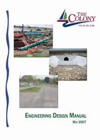 Engineering Design Manual Cover Page